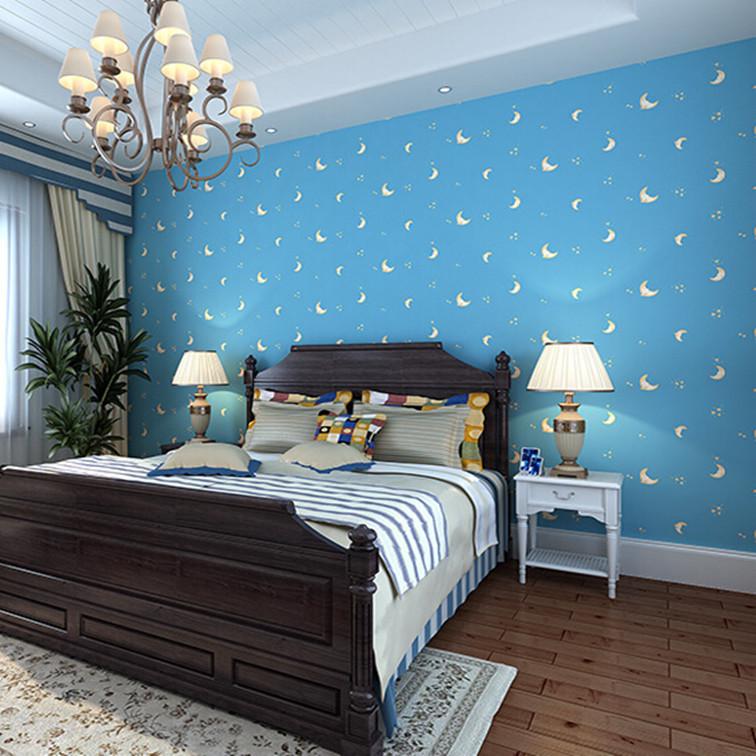 Online kopen wholesale romantische blauwe slaapkamer uit china romantische blauwe slaapkamer - Kleur muur slaapkamer tiener jongen ...