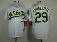 accept drop shipp. stitched cheap Oakland Athletics Jerseys #29 Jeff Samardzija Baseball Jersey Jose Abreu baseball shirt