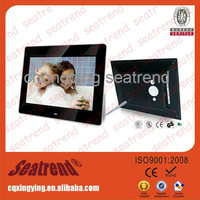 2014 new hot sales high quality 7-32inch lovely multifunctional video blue film digital photo frame