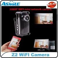 H.264 1080P Mini DV DVR Wireless Hidden Camera Audio video Recorder Mini camcorder Remote Control Z2 from asmile