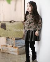 2014 new autumn korean children camouflage clothing,2-12yrs kids military uniform outwear&coat,fashion girl jackets tops