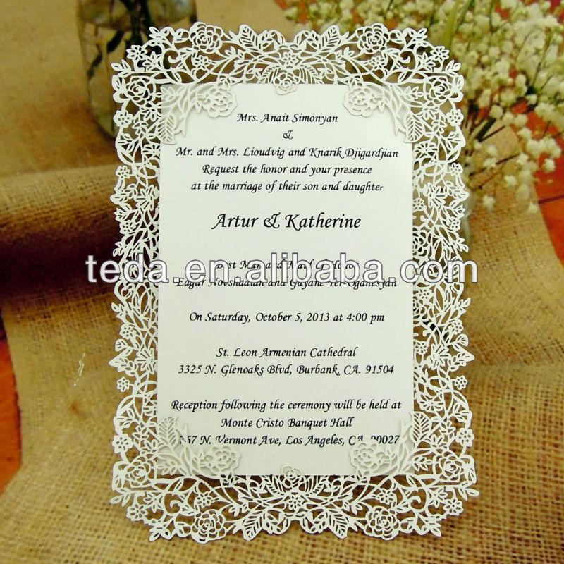 Online Get Cheap Muslim Wedding Invitations Alibaba Group