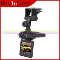 2.5 Inch Tft Lcd Screen Night Vision Vehicle Car Camera Recorder Audio Hd Video 6 IR LED DVR  270 Degree Monitor