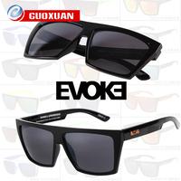 New Fashion Square Frame Sport Amplifier Sunglasses EVOKE Brand Designer Gradient Glasses Men&Women Oculos de sol masculino