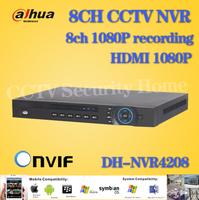 Dahua home surveillance NVR 8CH 1U Network Video Recorder 8 Channel CCTV NVR 5MP 3MP 1080P Support ONVIF NVR4208+Free shipping