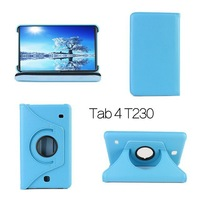 360 Rotation Stand Leather Case Cover For  Samsung Galaxy tab4 Tab 4 7.0 T230 Protection Shell Skin