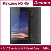 Casegift Original Kingzone N3 4G LTE FDD 1G RAM 8G ROM MT6582+ 6290 Quad Core 1.3GHz Android 4.4 Smart Phone 1280*720P OTG/Kocci