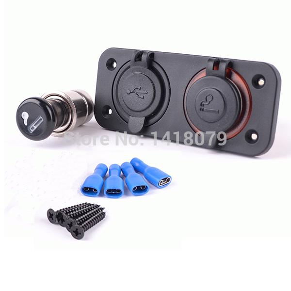 Прикуриватель в авто 12V & USB держатели в авто gro держатель в авто