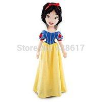 Free Shipping NEW Original Disny Princess Snow White doll plush toy 50cm Soft Stuffed Princesses dolls toys for children girls
