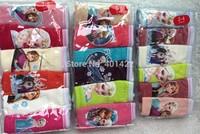 JPANTS140801 retail 6pcs/lot Children/kids/girls cartoon character/ Frozen underwear / Briefs /Panties/ inner wears(3-14 years)