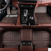 luxury full set car accessories auto car floor mat customized for all cars  5 colour free shipping