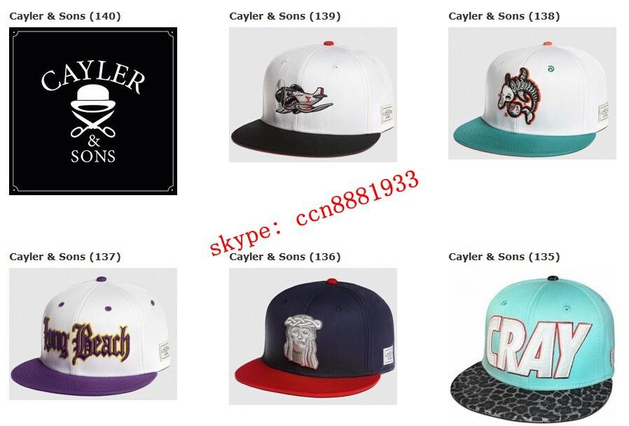 2014 New Cayler&Sons Cayler Sons Snapback Baseball Cap Fashion Trend Hip-Hop Adjustable Snapback Baseball Hat Cap chen snapbacks(China (Mainland))