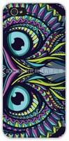 10pcs/lot For iPhone 5 5S 4 4s Case Cover Cartoon Aztec Animal Elephant Tiger Owl Orangutan Bear Kitten Wolf Painted Back case