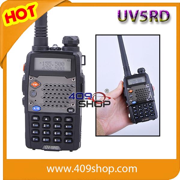 Lowest Price uv5rd two way dual band radio baofeng uv 5r two way radio walkie talkies transceiver(Hong Kong)