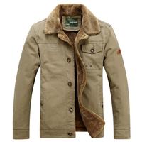 2014 Hot fashion New Fashion winter Men thick Jacket with fur Top quality super warm Plus size M-4XL Wholesale&Retail jeepRich