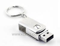 2014 New 64GB USB Flash Drive 32GB Pen Drive 16GB 8GB Pendrive 4GB Swivel Metal KeyChain Card Memory 2GB Stick Drives Pendrives
