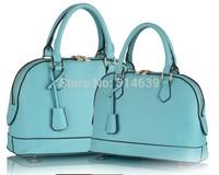 New Korean Style Brand Women Bag Leather Handbags Totes Shoulder Bags Messenger Cross body Shell Plaid Grid Candy Fashion