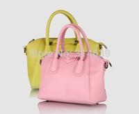 New Summer Fashion Women's Bag Leather Handbags Totes Shoulder Bags Messenger Cross body Bags Shell Bowknot