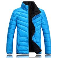 Hot sale free shipping men winter jacket slim fit cotton padded outwear 4 colors M-XXL BM10