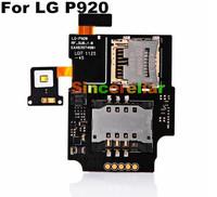 Original OEM Sim Card Tray & Memory Card Reader Socket Holder Flex Cable for LG P920 OPTIMUS 3D