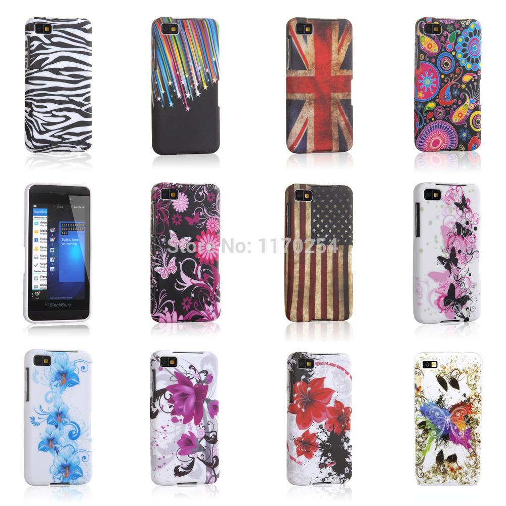 Fashion Pattern Design TPU Silicon Phone Case Shell Bag Etui for BlackBerry Z10 Back Cover SKin BlackBerryZ10 Z 10(China (Mainland))