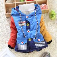 HOT SALE boy coat 2014 fashion boys clothing brand thick kids clothes child winter jacket coat children outerwear & coats HC054
