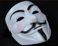 Hot ! Top Popular Hip-hop Dancing Performances Masks V Mask Vendetta Party mask, Free Shipping MJ017