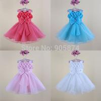 6pcs 2014 New Girl dress birthday party dress,Kid girls lace tutu ballet princess dress,girl clothing,baby girls Wedding Dresses