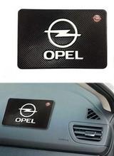 Free shipping car anti slip mat Dashboard Mobile phone pad for Opel Corsa Insignia Meriva Zafira Astra Vectra Antara Mokka(China (Mainland))