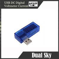 New USB Car  Charger Doctor Voltage Current Meter Battery Tester Power Detector LCD (3.5v-7.0V, 0-3A)