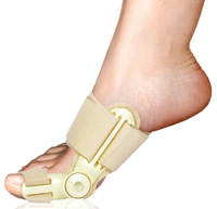 High quality fashion man women day and night use foot feet toe large blackmailed hallux valgus separator brace corrector