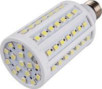 Cool White E27 5500~6500K SMD 68 Led Corn Bulb Lamp Beads AC100-120V 900LM 15W