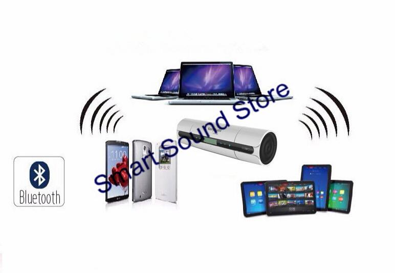 NFC Touch Control Bluetooth Wireless Portable Speaker Hand Free MIC USB Flash Driver TF Card Slot FM Radio(China (Mainland))