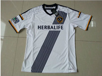 14/15 Los Angeles Galaxy Home white Best Thailand Quality Football Soccer Jersey 2015 Donovan Keane Magee LA Galaxy Shirt