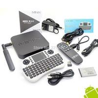 MINIX NEO X8-H X8 H 4K Android TV Box Quad Core Amlogic S802-H 2GB 16GB + Russian Language UKB-500 2.4G MINI MOUSE & KEYBOARD