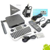 MINIX NEO X8-H X8 H X8H 4K Android  TV Box Quad Core Amlogic S802-H 2GB 16GB +English Version UKB-500 2.4G MINI MOUSE & KEYBOARD