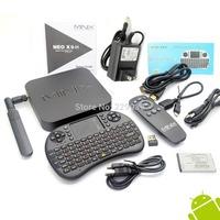 MINIX NEO X8-H X8 H X8H 4K Android Smart  TV Box Quad Core Amlogic S802-H 2GB 16GB + German UKB-500 2.4G MINI MOUSE & KEYBOARD