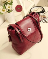 2014Fashion Women's  Handbag Japanned Leather  Serpentine Pattern Shaping Messenger Bag