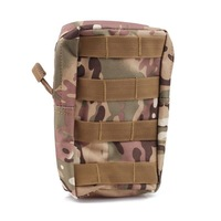 Tactical MOLLE/PALS Modular Utility Pouch Magazine Mag Accessory Medic Tool Bag CP Camouflage