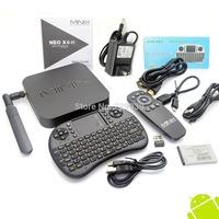 MINIX NEO X8-H X8 H X8H 4K Android TV Box Quad Core Amlogic S802-H 2GB 16GB + BLACK Russian UKB-500 2.4G MINI MOUSE & KEYBOARD