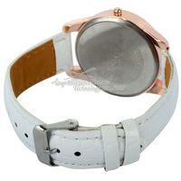 2014 New iron tower Watches Leather Quartz Watches GOGO 1973  Rhinestone Wristwatches Fashion Wristwatches Dropship