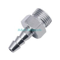 """Airbrush Connector 1/8"""" Male Screw In Plug for Connecting your Airbrush Gun to Rubber Hose TS-08"""