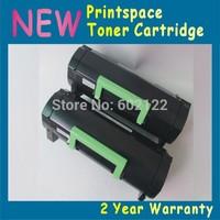2x NON-OEM Toner Cartridge Compatible For Lexmark MX510 MX510de(2500 pages)