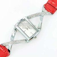 2014 New Rhinestone design Watches  Leather Quartz Watches gogo 862 Rhinestone Wristwatches Fashion Wristwatches Dropship