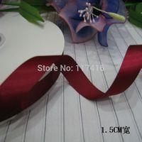 "15 mm  5/8"" high quality  satin gift ribbon bow ribbon   196 colors 100 yards / lot"