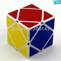 Free Shipping! New Shengshou Skewb Cube White Speed Cube Magic Cube Skweb Puzzle