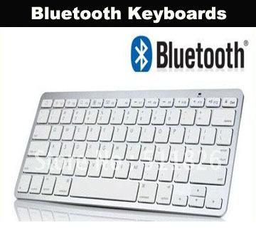Wholesale Bluetooth Keyboard Wireless Keyboards For PC Mac Keyboard For iPad iPhone 20PCS/lot(China (Mainland))