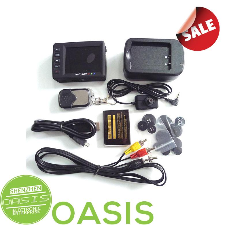 "Portable 2.5"" screen Mini Camera Pocket Video DVR Recording system Button(China (Mainland))"