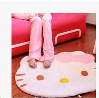 Hello Kitty mat type door mat and lovely cartoon head mat/household carpet bed pad
