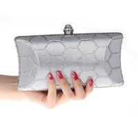 Newest luxury diamond evening bags , quality women chains shoulder bag ,party , wedding bride bag women handbags 6 color 1212